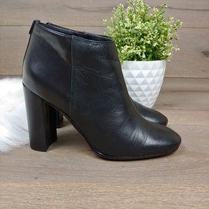 Sam Edelman Shoes - Sam Edelman Black Leather Heeled Booties